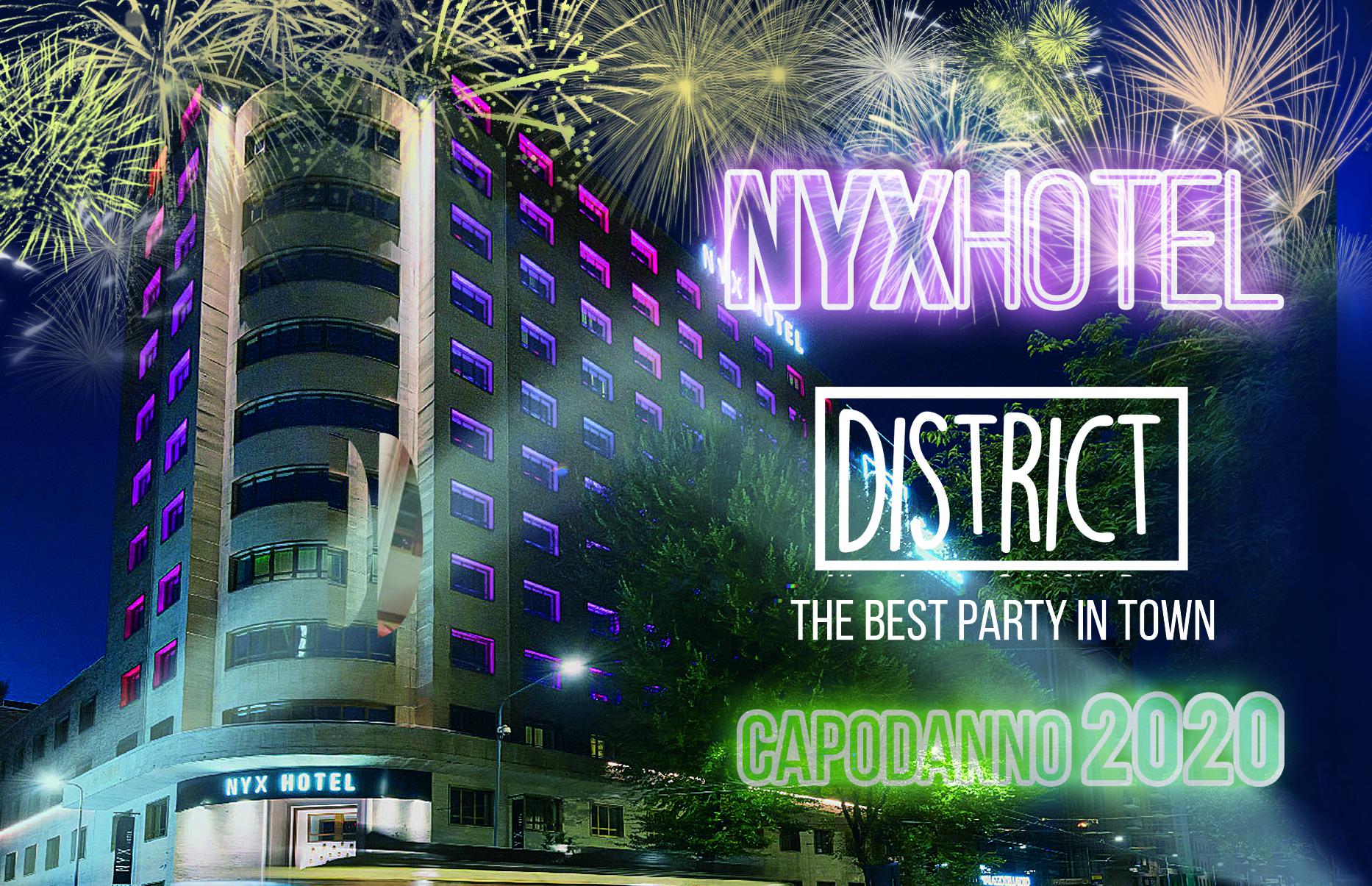 NYX Hotel 2020